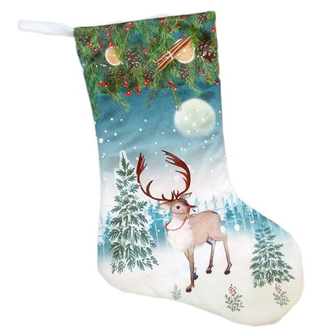 Christmas Traditional Printed Stocking - 6 designs | Home Decor | All For Xmas