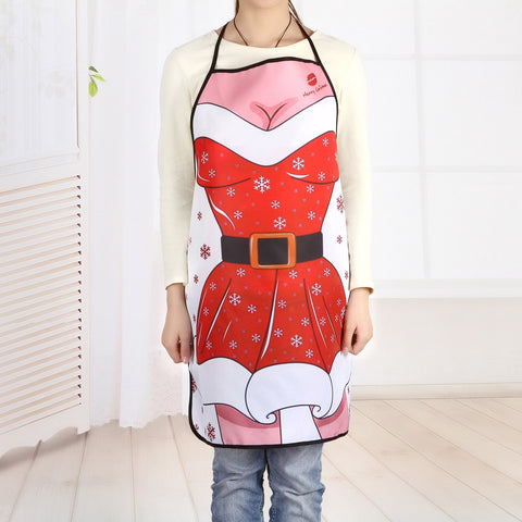 Christmas Mrs Santa Cooking Apron | Kitchen Decor | All For Xmas