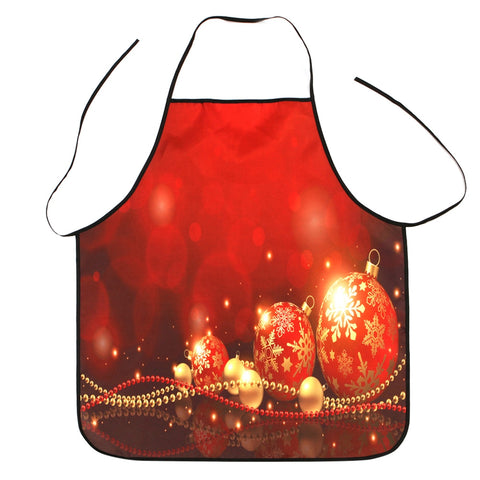 Red Christmas Decorations Cooking Apron | Kitchen Decor | All For Xmas