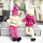 2pcs Kawaii Doll Christmas Tree Decoration | Window Hanging Dolls | All For Xmas