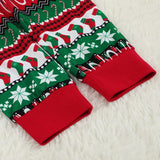 Christmas Family Matching Pajamas - Red White Green Ornaments | Christmas Apparel | All For Xmas