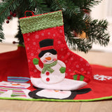 2pcs Set Christmas Santa And Snowman Stockings | Home Decor | All For Xmas