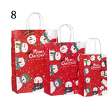 40pcs Christmas Small Paper Gift Bags | Gift Decor | All For Xmas - All For Xmas