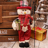 Huge Santa Claus/Snowman Dolls Sitting Standing | Christmas Decor | All For Xmas