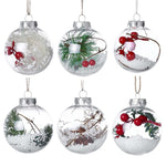 Crystal Bulbs Christmas Tree Hanging Pendant | Tree Decor | All For Xmas