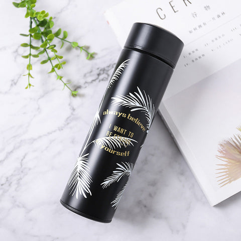 Feather Stainless Steel Vacuum Flask Thermos Travel Bottle | Christmas Gift Ideas | All For Xmas