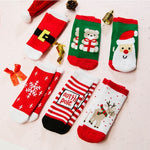 6Pairs Christmas Cotton Socks For Children | Christmas Apparel | All For Xmas