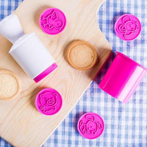 6 Patterns DIY Cookie Cutter Stamp Mould | Kitchen Accessories | All For Xmas