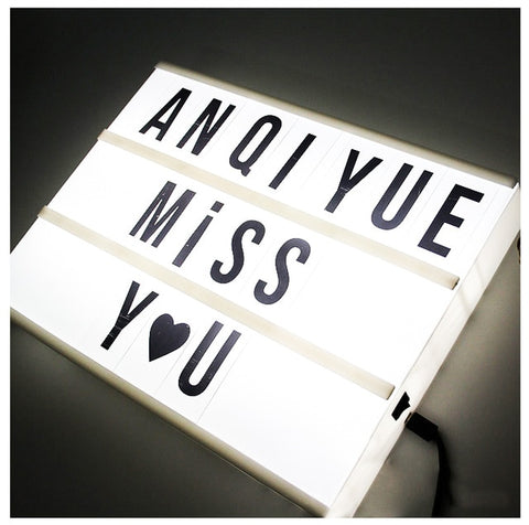 LED Light Message Board A4 Size | All For Xmas