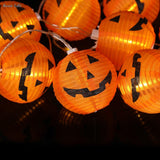 Pumpkin LED String Lights | 10 Lights | Holiday Decor | All For Xmas