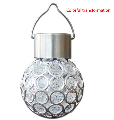 Solar Crystal Ball Multicolor Light Garden | Holiday Lighting | All For Xmas
