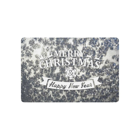 Merry Christmas Snowflake - Non-Slip Doormat | Home Decor | All For Xmas