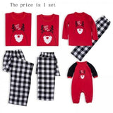 Christmas Family Matching Pajamas - Ho Ho Ho Red | Christmas Apparel | All For Xmas