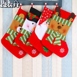 Christmas Decorated Cloth Stockings - 3 designs | Home Decor | All For Xmas