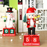 Christmas Advent Wooden Nutcracker Figure | Christmas Decor | All For Xmas