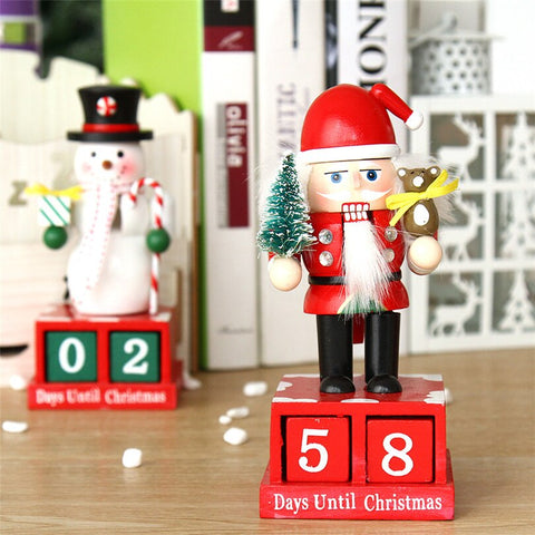 Christmas Advent Wooden Nutcracker Figure | Christmas Decor | All For Xmas - All For Xmas