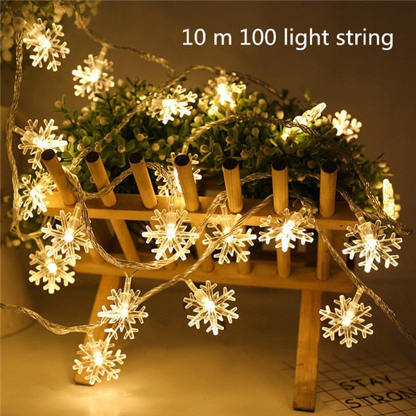 Beautiful Christmas.Beautiful Christmas Lights Indoor Outdoor Holiday Decorations Led String Warm Lights All For Christmas