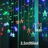 Beautiful Christmas Lights | Indoor/ Outdoor Holiday Decorations Led String Warm Lights | All For Christmas