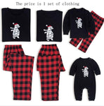 Christmas Family Matching Pajamas - Plaid Polar Bear | Christmas Apparel | All For Xmas - All For Xmas