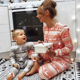 Christmas Family Matching Pajamas - Reindeer Pattern | Christmas Apparel | All For Xmas