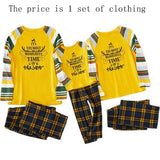 Christmas Family Matching Pajamas - Yellow Holidays | Christmas Apparel | All For Xmas