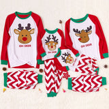 Christmas Family Matching Pajamas - Oh Deer | Christmas Apparel | All For Xmas