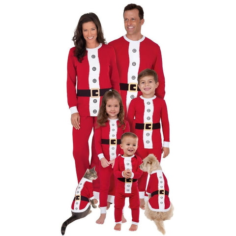 Christmas Family Matching Pajamas - Elf Suit | Christmas Apparel | All For Xmas - All For Xmas