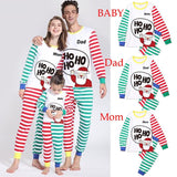 Christmas Family Matching Pajamas - Ho Ho Ho | Christmas Apparel | All For Xmas