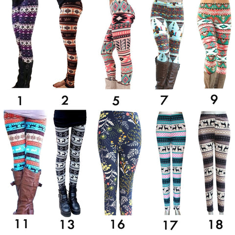 Christmas Women High Waist Leggings | Christmas Apparel | All For Xmas