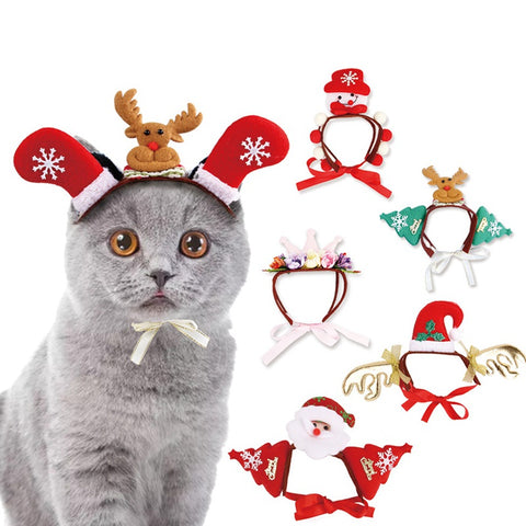 Cats And Dogs Christmas Headwear | Holiday Gifts | All For Xmas