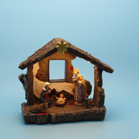 Christmas Nativity Scene With LED Light | Christmas Decor | All For Xmas