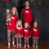 Christmas Family Matching Pajamas - Reindeer | Christmas Apparel | All For Xmas