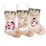Christmas Traditional Small Cloth Stockings | Home Decor | All For Xmas - All For Xmas
