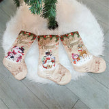 Christmas Traditional Small Cloth Stockings | Home Decor | All For Xmas
