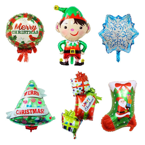 Christmas Foil Air Balloons | Christmas Party Decor | All For Xmas - All For Xmas