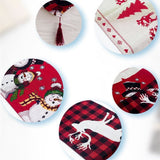Cotton Embroidered Christmas Table Runners | Christmas Decor | All For Xmas