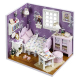 Miniature DIY DollHouse With Furnitures | Christmas Gifts | All For Xmas