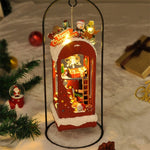 Mini DIY Christmas Scene Ornament With LED Light | Christmas Decor | All For Xmas