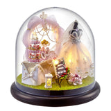 Mini DIY Christmas Scene Ornament With Transparent Dome | Christmas Decor | All For Xmas