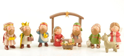 10pcs Christmas Nativity Scene Mini Set | Christmas Decor | All For Xmas