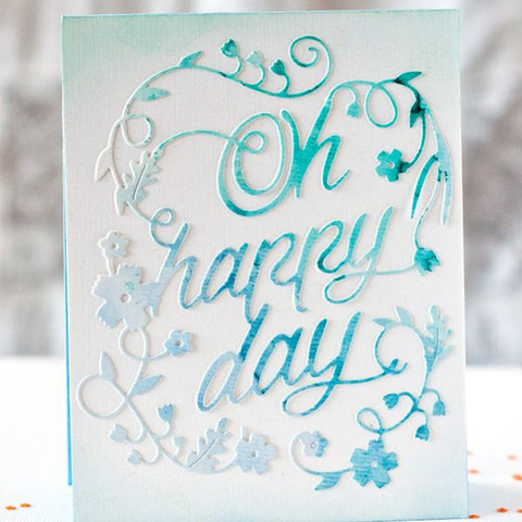 Happy Day - DIY Die Cut | Gifts For Christmas | All For Xmas - All For Xmas