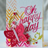 Happy Day - DIY Die Cut | Gifts For Christmas | All For Xmas