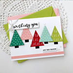 Trees And Stars - DIY Die Cut | Gifts For Christmas | All For Xmas