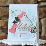 Let It Snow - Christmas DIY Die Cut | Gifts For Christmas | All For Xmas