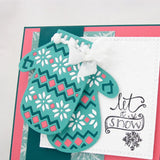 Mittens Gloves - DIY Die Cut | Gifts For Christmas | All For Xmas