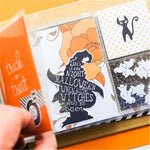 Halloween Witch - DIY Die Cut | Gifts For Halloween | All For Xmas