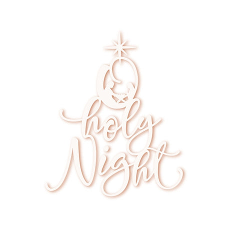 Holy Night - DIY Die Cut | Gifts For Christmas | All For Xmas