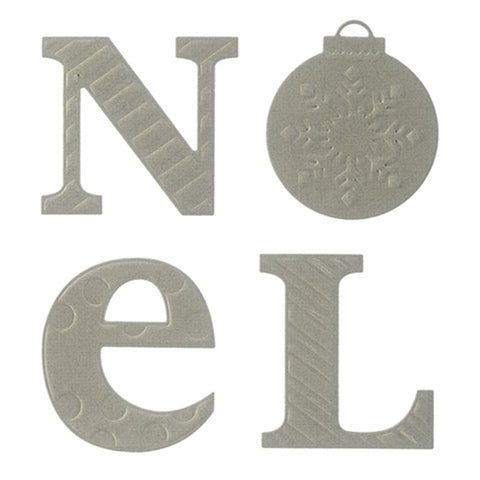 Noel Silver - DIY Die Cut | Gifts For Christmas | All For Xmas