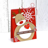 Santa ReinDeer Penguin - DIY Die Cut | Gifts For Christmas | All For Xmas