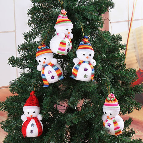 Snowman Hanging Christmas Tree Decoration | Home Decor | All For Xmas - All For Xmas